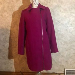 Worthington* Off-Center Zipper Woman's Winter Coat